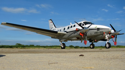 ARBV-0201 - Beechcraft E90 King Air - Venezuela - Navy