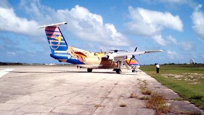 6Y-JEB - Bombardier Dash 8-102 - Air Jamaica Express