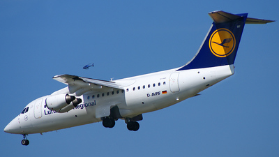 D-AVRF - British Aerospace Avro RJ85 - Lufthansa Regional (CityLine)