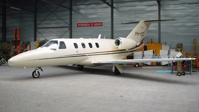 PH-ECI - Cessna 525 CitationJet 1 - Exact Nederland