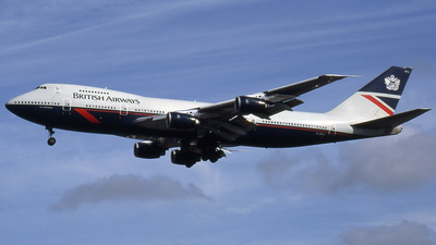 G-BDXJ - Boeing 747-236B - British Airways