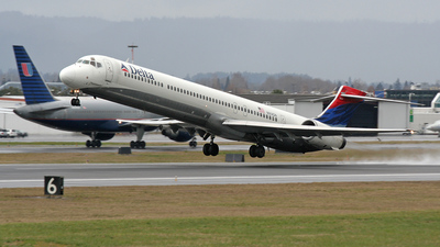 N914DN - McDonnell Douglas MD-90-30 - Delta Air Lines