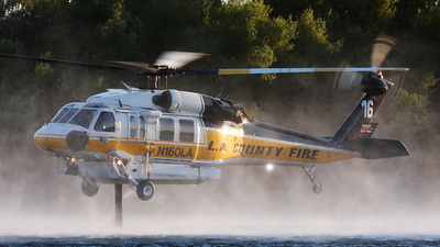 N160LA - Sikorsky S-70 Firehawk - United States - Los Angeles County Fire Department