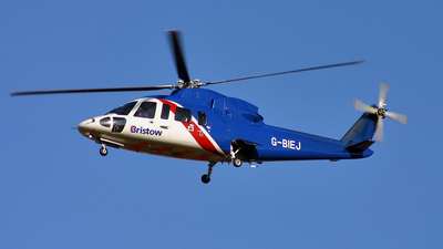 A picture of GBIEJ - Sikorsky S76A - Bristow Helicopters - © KEVIN ROWETT