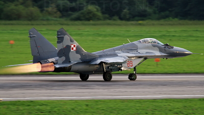 89 - Mikoyan-Gurevich MiG-29A Fulcrum - Poland - Air Force