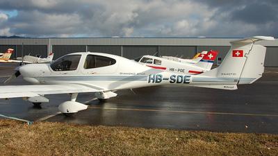 HB-SDE - Diamond DA-40D Diamond Star TDI - Groupement de Vol à Moteur Lausanne