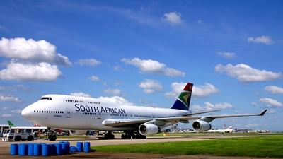 ZS-SAV - Boeing 747-444 - South African Airways