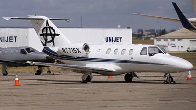 N7715X - Cessna 525A CitationJet 2 - Private