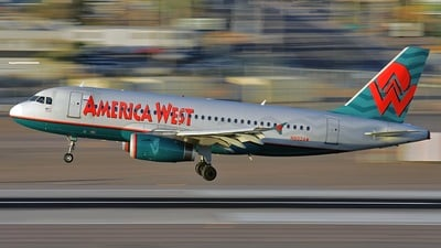 N802AW - Airbus A319-132 - America West Airlines