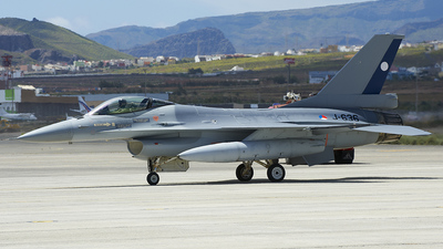 J-636 - General Dynamics F-16A Fighting Falcon - Netherlands - Royal Air Force