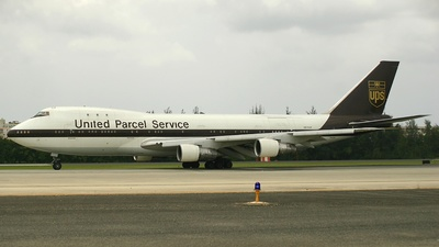 N676UP - Boeing 747-123(SF) - United Parcel Service (UPS)