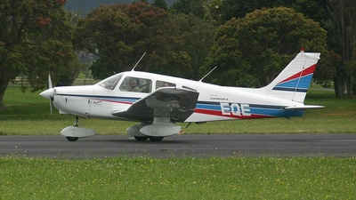ZK-EQE - Piper PA-28-161 Warrior II - Aero Club - Tauranga