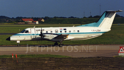 LX-LGM - Embraer EMB-120RT Brasília - Luxair Commuter