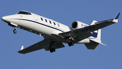 G-SXTY - Bombardier Learjet 60 - TAG Aviation