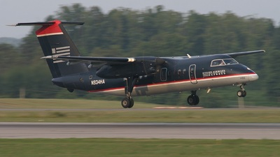 N934HA - Bombardier Dash 8-102 - US Airways Express (Piedmont Airlines)