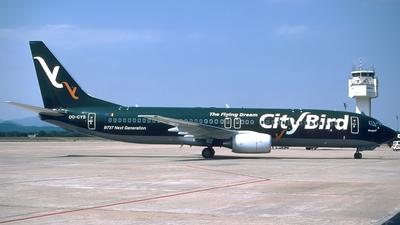 OO-CYS - Boeing 737-86N - CityBird
