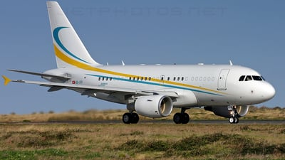 HB-IPP - Airbus A318-112(CJ) Elite - Comlux Aviation