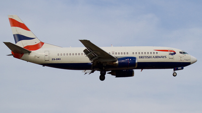 ZS-OKI - Boeing 737-376 - British Airways (Comair)