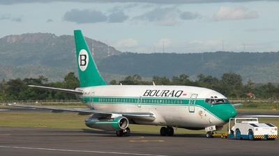 PK-IJN - Boeing 737-230(Adv) - Bouraq Indonesia Airlines