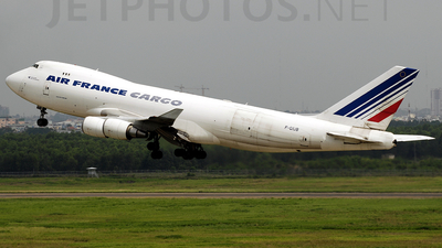 F-GIUB - Boeing 747-428ERF - Air France Cargo