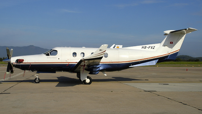 HB-FVZ - Pilatus PC-12/45 - Private