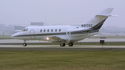 A picture of N317CC - Hawker 800XP - [258532] - © Bruce Leibowitz