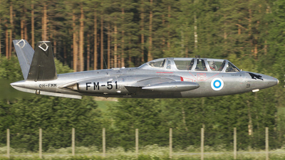 OH-FMM - Fouga CM-170 Magister - Private