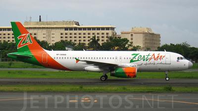 RP-C8988 - Airbus A320-232 - Zest Air