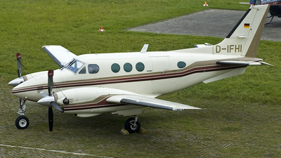 D-IFHI - Beechcraft C90 King Air - Private