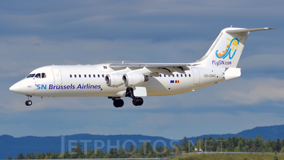 OO-DWC - British Aerospace Avro RJ100 - SN Brussels Airlines