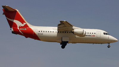 VH-NJG - British Aerospace BAe 146-200 - Qantaslink