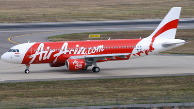 F-WWBZ - Airbus A320-216 - Indonesia AirAsia