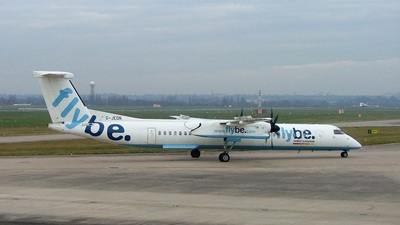 G-JEDN - Bombardier Dash 8-Q402 - Flybe