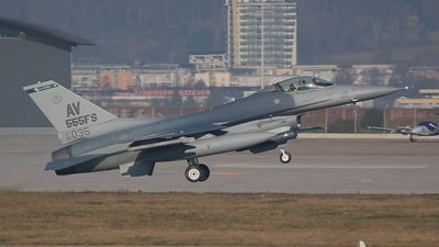 89-2035 - General Dynamics F-16CG Fighting Falcon - United States - US Air Force (USAF)