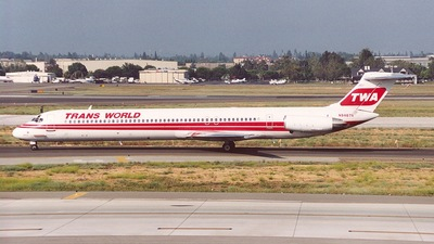 N9407R - McDonnell Douglas MD-83 - Trans World Airlines (TWA)