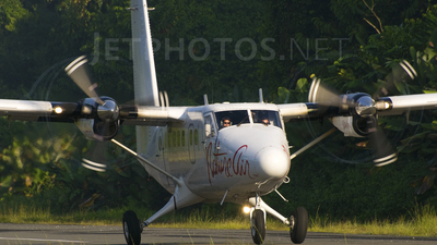 TI-AYQ - De Havilland Canada DHC-6-300 Twin Otter - Nature Air