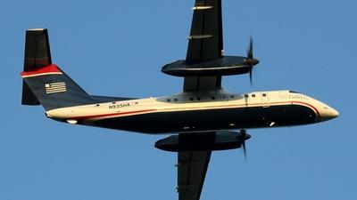 A picture of N935HA - De Havilland Canada Dash 8100 - [142] - © Scott Kerhaert