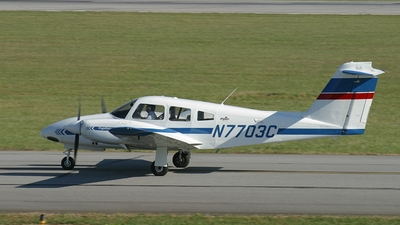 A picture of N7703C - Piper PA44180 Seminole - Skyborne Airline Academy - © Chris Starnes