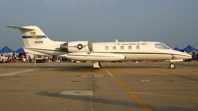 84-0128 - Gates Learjet C-21A - United States - US Air Force (USAF)