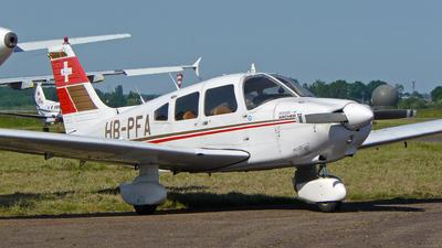 A picture of HBPFA - Piper PA28181 - [288090159] - © Pierre Guilpain