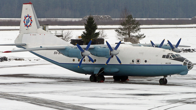 S9-SAE - Antonov An-12B - British Gulf International Airlines