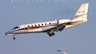 OE-GAK - Cessna 680 Citation Sovereign - JetAlliance