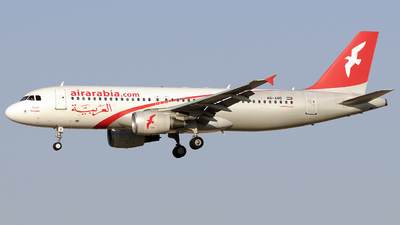 A6-ABD - Airbus A320-214 - Air Arabia