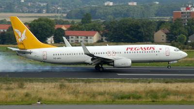 TC-APJ - Boeing 737-86N - Pegasus Airlines