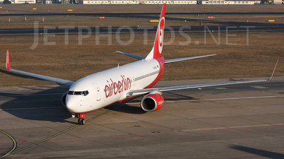 D-ABBG - Boeing 737-86J - Air Berlin