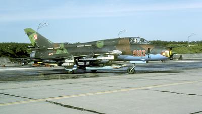 9103 - Sukhoi Su-22M4 Fitter K - Poland - Air Force