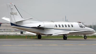 A picture of N24E - Cessna 550 Citation II - [5500651] - © Wojtek Kmiecik