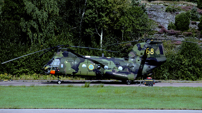 04068 - Boeing Vertol Hkp4B - Sweden - Armed Forces