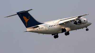 SE-DJZ - British Aerospace Avro RJ70 - Air One (Transwede Airways)