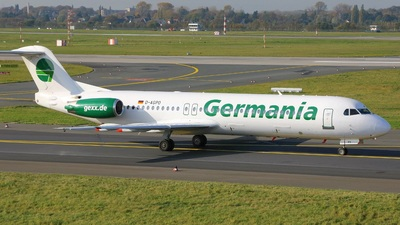D-AGPO - Fokker 100 - Germania